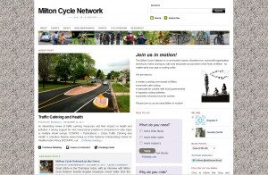 Milton Cycle Network website